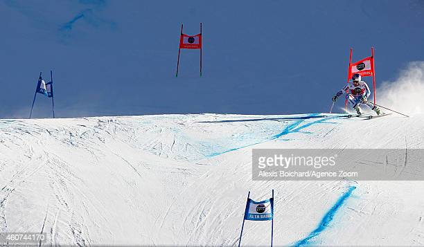 Alexis Pinturault of France competes during the Audi FIS Alpine Ski World Cup Men's Giant Slalom on December 21 2014 in Alta Badia Italy