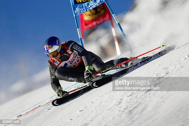 Alexis Pinturault of France competes during the Audi FIS Alpine Ski World Cup Men's Giant Slalom on December 10 2016 in Vald'Isere France