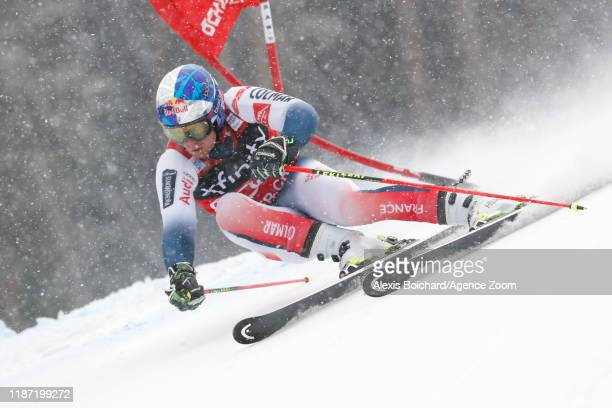 Alexis Pinturault of France in action during the Audi FIS Alpine Ski World Cup Men's Giant Slalom on December 8 2019 in Beaver Creek USA