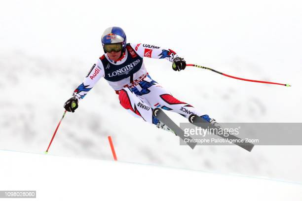 Alexis Pinturault of France in action during the FIS World Ski Championships Men's Alpine Combined on February 11 2019 in Are Sweden