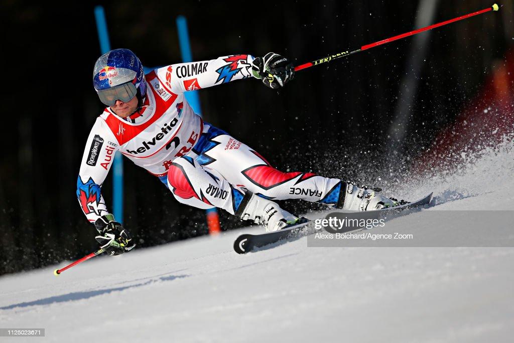 FIS World Ski Championships - Men's Giant Slalom : News Photo