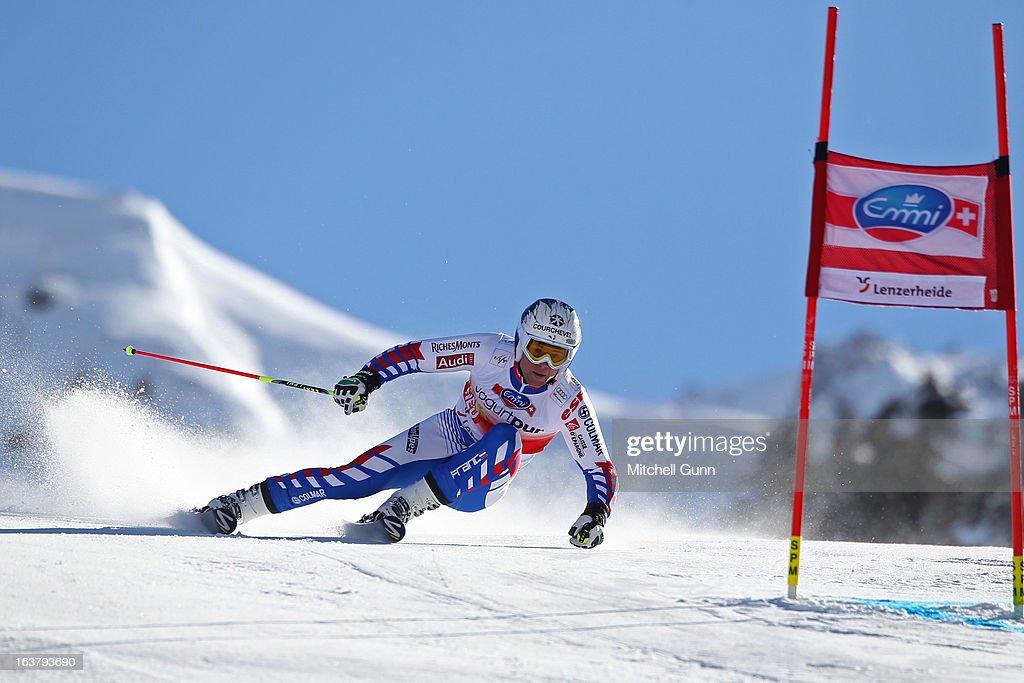 Audi FIS Alpine World Cup Finals - Men's Giant Slalom : News Photo