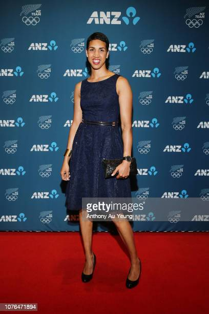 Alexis Pritchard attends the 2018 New Zealand Olympic Committee Gala at the Sky City Convention Centre on December 03 2018 in Auckland New Zealand