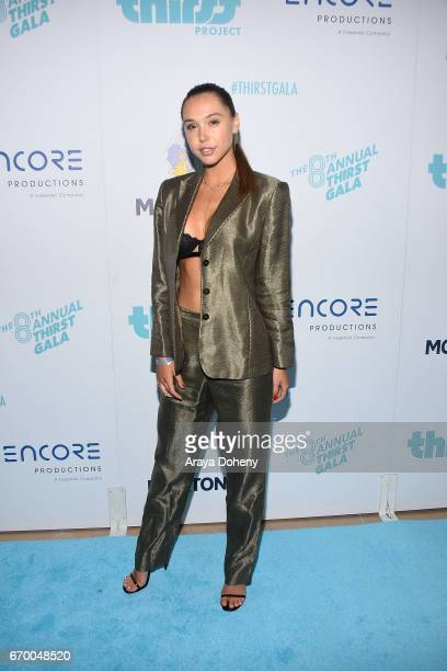 Alexis Ren attends the Thirst Project's 8th Annual Thirst gala at The Beverly Hilton Hotel on April 18 2017 in Beverly Hills California