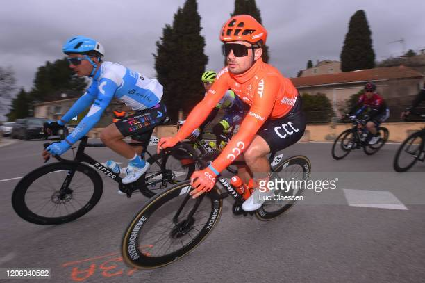 Alexis Renard of France and Team Israel Start-Up Nation / Jakub Mareczko of Italy and CCC Team / during the 5th Tour de La Provence 2020, Stage 1 a...