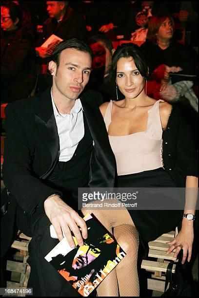 Alexis Roche and Astrid Munoz at John Galliano Men's Fashion Autumn/Winter 2005/2006