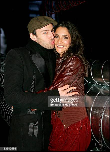 Alexis Roche and Astrid Munoz at the John Galliano Catwalk Pret A Porter Menswear Autumn Winter 2006/2007 Collection