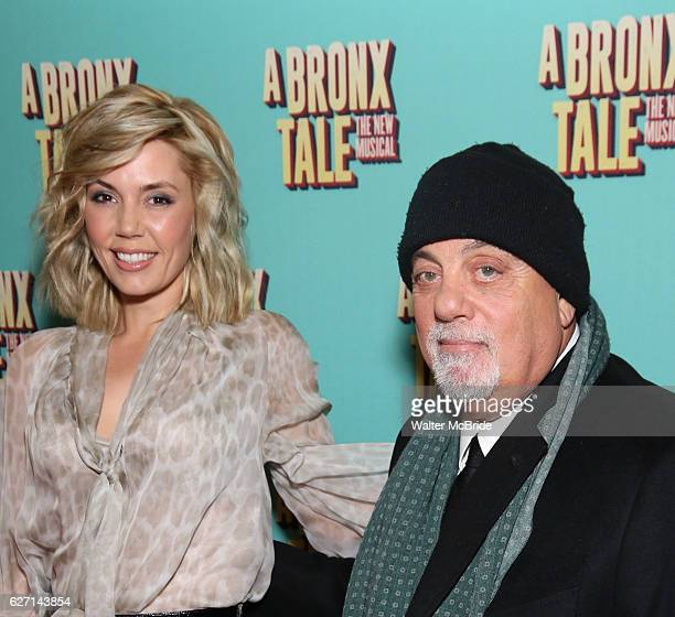 Alexis Roderick and Billy Joel attend the Broadway Opening Night Perfomance of 'A Bronx Tale' at The Longacre on December 1 2016 in New York City