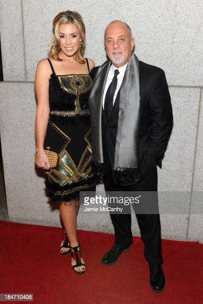 Alexis Roderick and Billy Joel attend the Elton John AIDS Foundation's 12th Annual An Enduring Vision Benefit at Cipriani Wall Street on October 15...