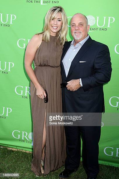 Alexis Roderick and Billy Joel attend the Group For The East End's 40th Anniversary Benefit And Auction at Wolffer Estate Vineyard on June 23 2012 in...