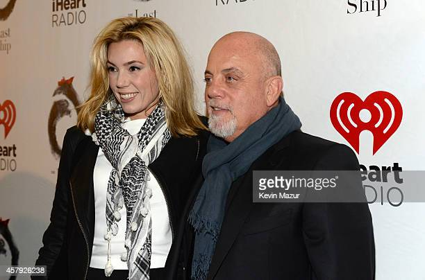 Alexis Roderick and Billy Joel attend 'The Last Ship' broadway opening night at Neil Simon Theatre on October 26 2014 in New York City