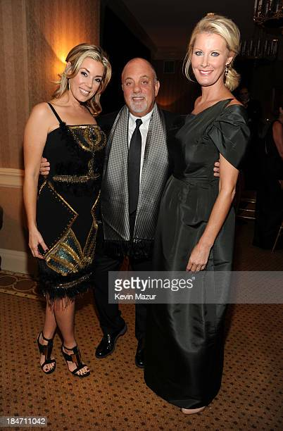 Alexis Roderick Billy Joel and Sandra Lee attend the Elton John AIDS Foundation's 12th Annual An Enduring Vision Benefit at Cipriani Wall Street on...
