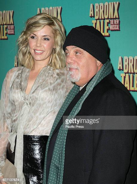 Alexis Roderick Billy Joel attend the opening night for A Bronx Tale The New Musical at Longacre Theatre in NYC
