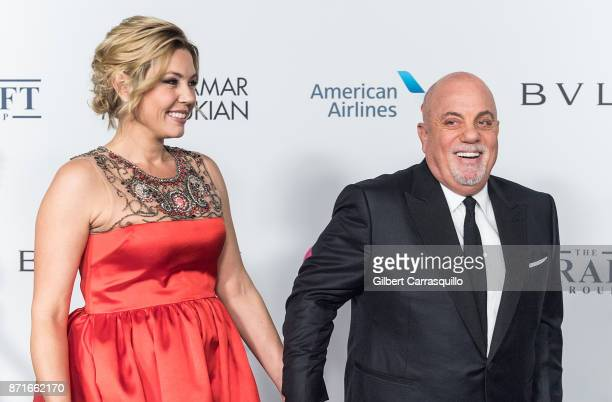 Alexis Roderick Joel and Billy Joel attend as the Elton John AIDS Foundation commemorates its 25th year and honors founder Sir Elton John during the...