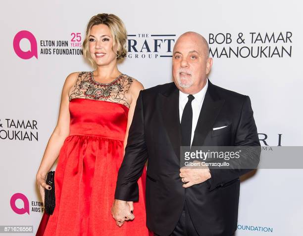 Alexis Roderick Joel and Billy Joel attend Elton John AIDS Foundation Commemorates Its 25th Year And Honors Founder Sir Elton John During New York...