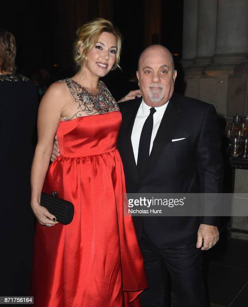 Alexis Roderick Joel and Billy Joel attend Elton John AIDS Foundation 25th Year And Honors Founder Sir Elton John During New York Fall Gala at...