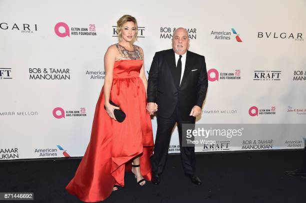 Alexis Roderick Joel and Billy Joel attend the Elton John AIDS Foundation Commemorates Its 25th Year And Honors Founder Sir Elton John During New...