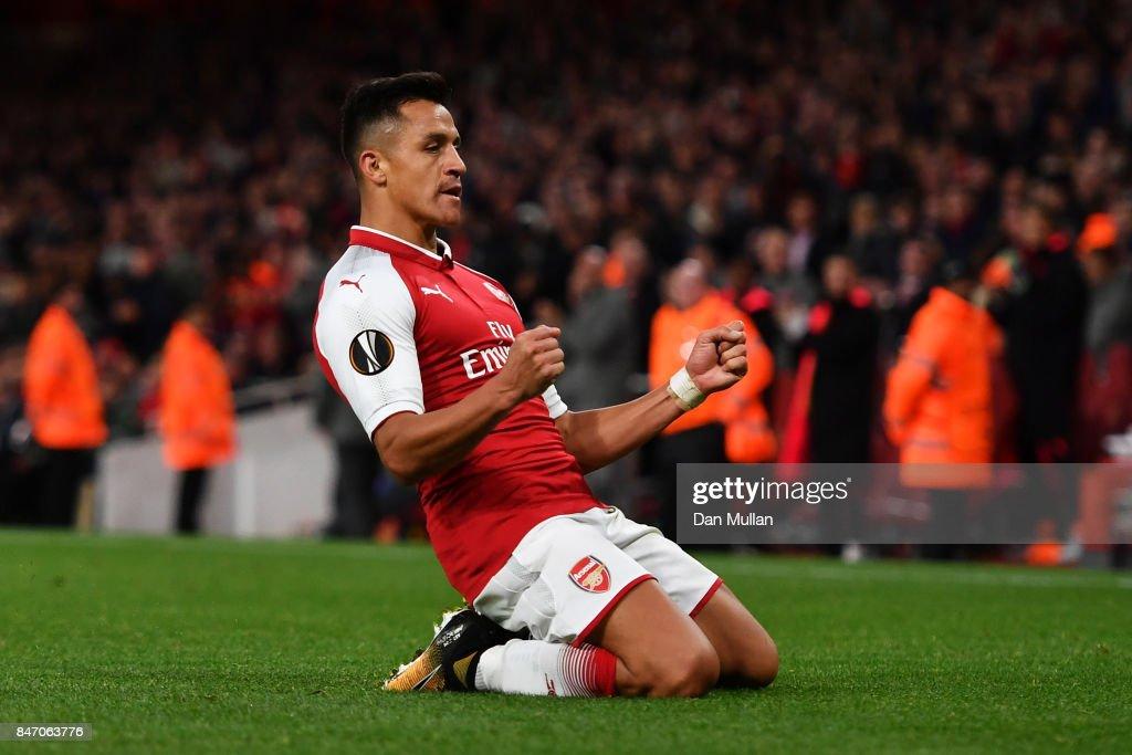 Arsenal FC v 1. FC Koeln - UEFA Europa League : News Photo