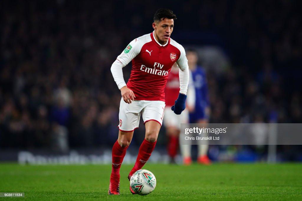 Chelsea v Arsenal - Carabao Cup Semi-Final: First Leg : ニュース写真