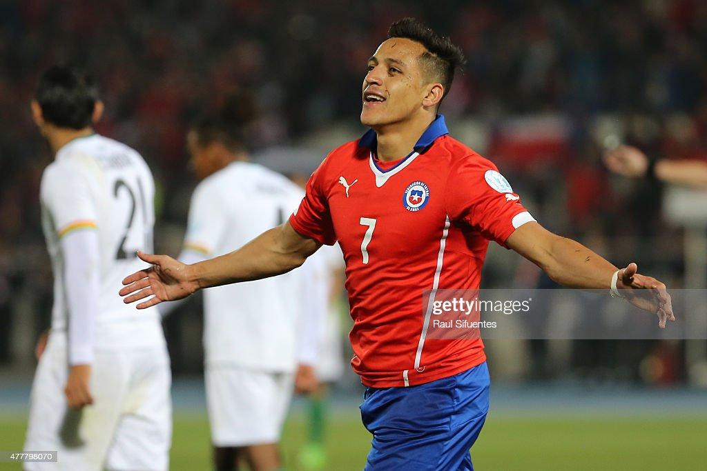 Chile v Bolivia: Group A - 2015 Copa America Chile : News Photo