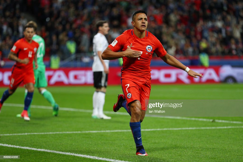 Germany v Chile: Group B - FIFA Confederations Cup Russia 2017 : News Photo