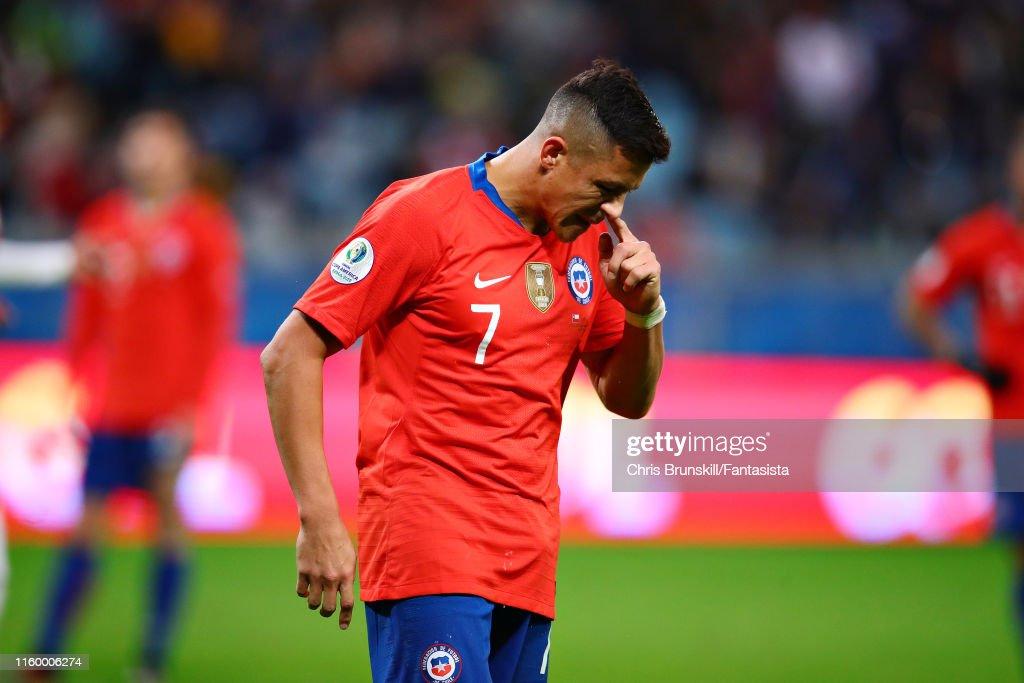 Chile v Peru: Semi Final - Copa America Brazil 2019 : News Photo