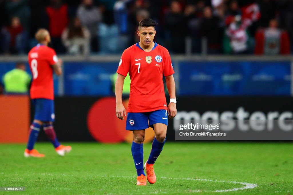 Chile v Peru: Semi Final - Copa America Brazil 2019 : ニュース写真