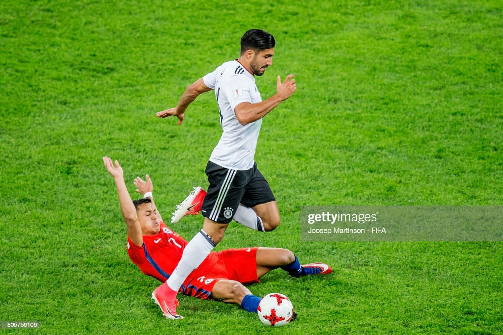 Chile v Germany: Final - FIFA Confederations Cup Russia 2017 : News Photo