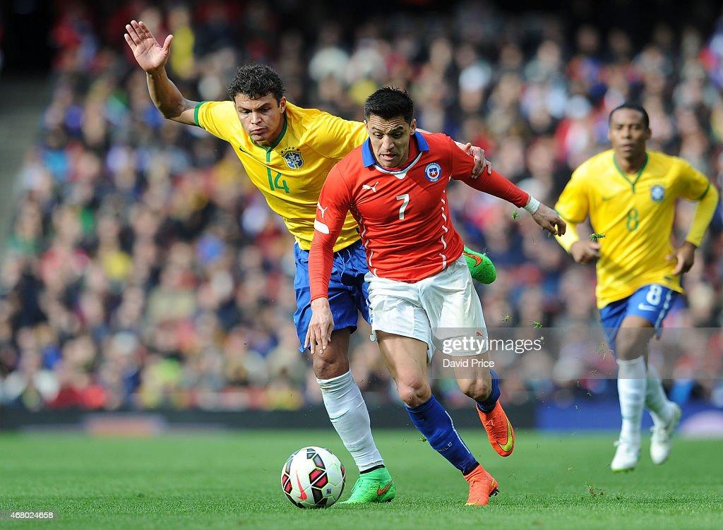 Brazil v Chile - International Friendly : News Photo