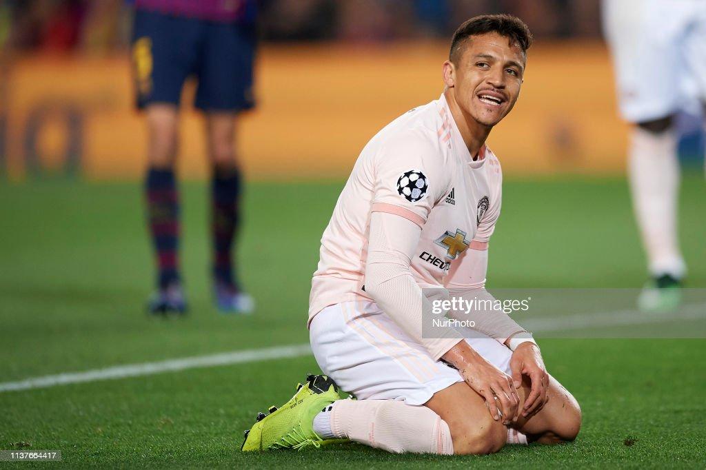 FC Barcelona v Manchester United - UEFA Champions League Quarter Final: Second Leg : News Photo