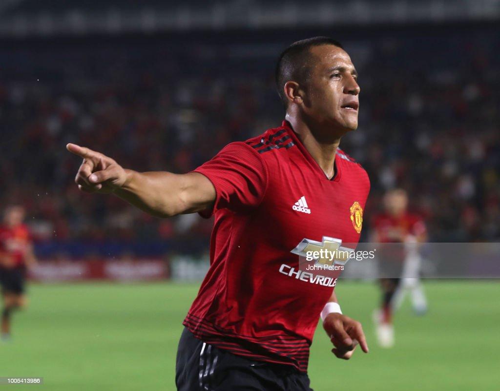 AC Milan v Manchester United - International Champions Cup 2018 : News Photo