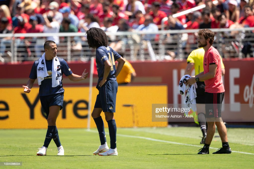 Manchester United v San Jose Earthquakes : News Photo