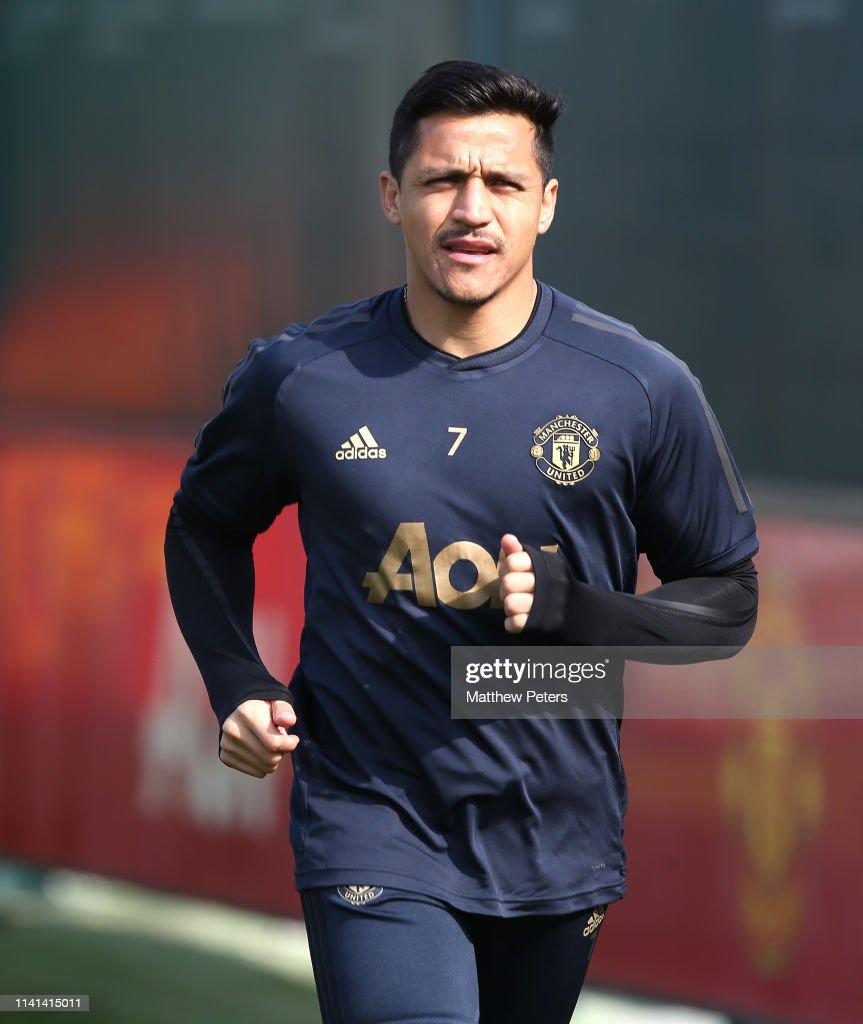 Manchester United Training Session : ニュース写真