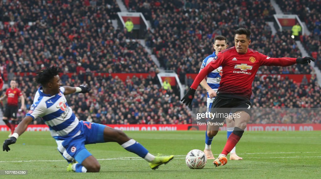 Manchester United v Reading - FA Cup Third Round : News Photo