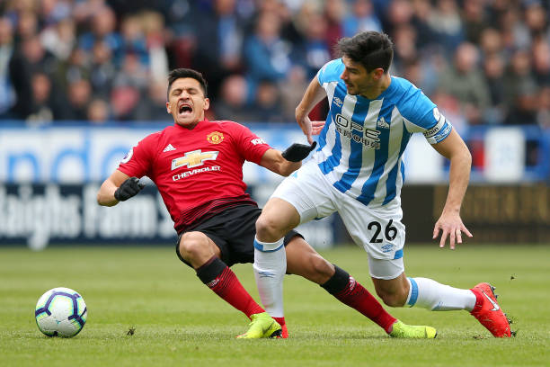 GBR: Huddersfield Town v Manchester United - Premier League
