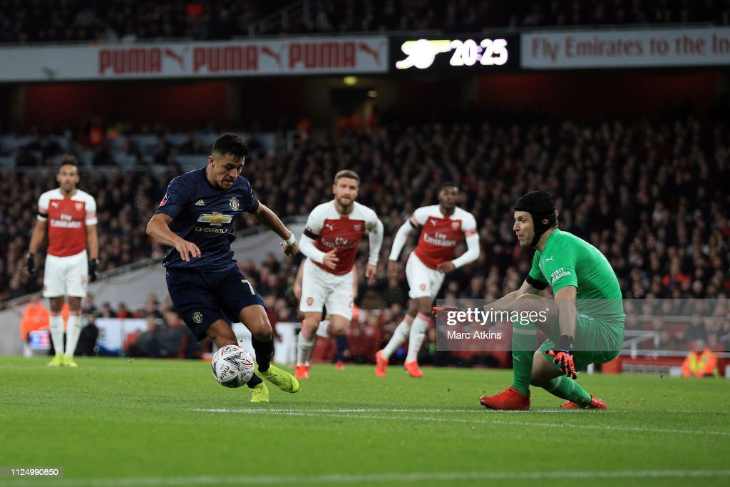 Arsenal v Manchester United - FA Cup Fourth Round : ニュース写真
