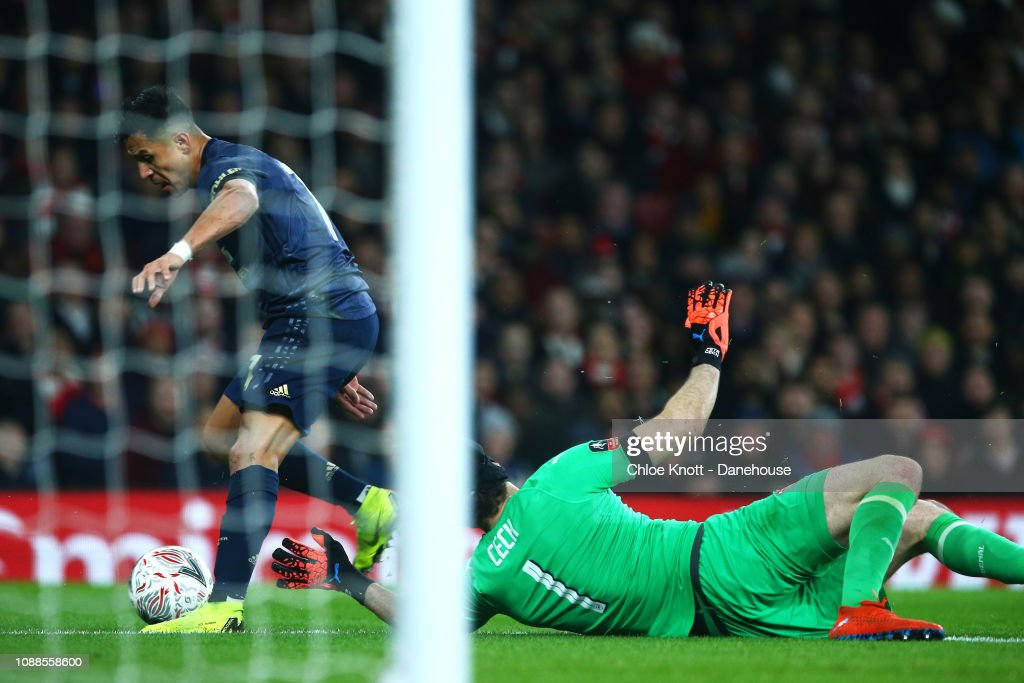 Arsenal v Manchester United - FA Cup 4th round : News Photo