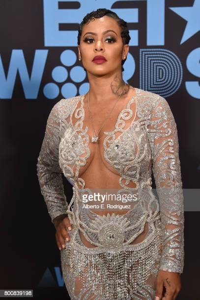 Alexis Skyy at the 2017 BET Awards at Microsoft Square on June 25 2017 in Los Angeles California