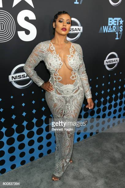 Alexis Skyy at the 2017 BET Awards at Staples Center on June 25 2017 in Los Angeles California