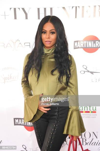 Alexis Skyy attends Cocktails with Claire Ty Hunter Brunch at Soho Atlanta on December 2 2017 in Atlanta Georgia
