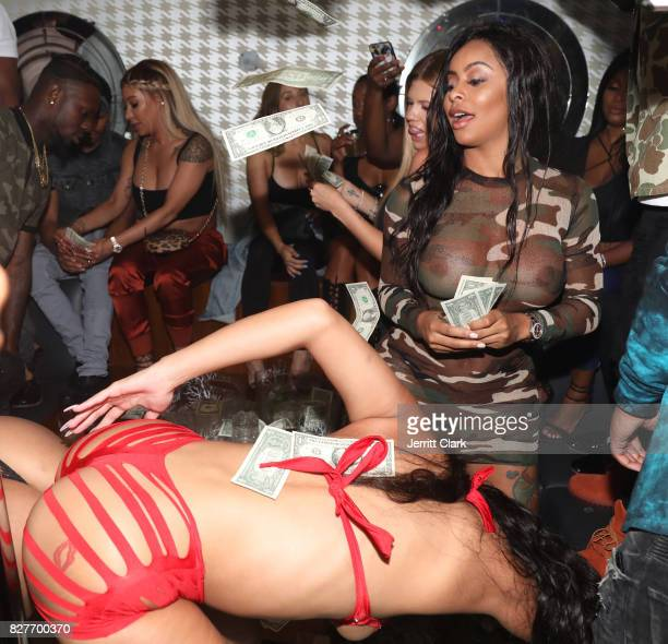 Alexis Skyy attends Moula Mondays Hosted By Hazel E And Alexis Skyy at The Diamond District on August 7 2017 in Los Angeles California