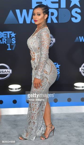 Alexis Skyy attends the 2017 BET Awards at Microsoft Theater on June 25 2017 in Los Angeles California
