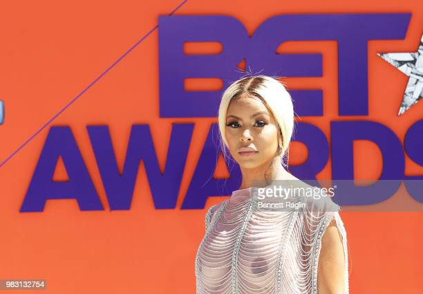Alexis Skyy attends the 2018 BET Awards at Microsoft Theater on June 24 2018 in Los Angeles California