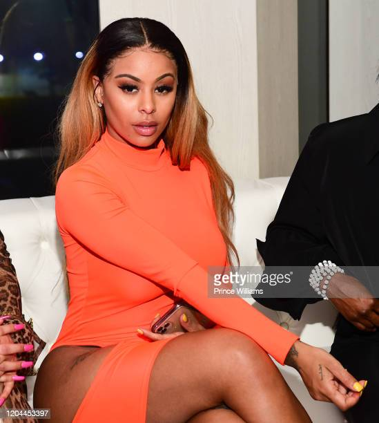 Alexis Skyy attends The Big Game Weekend party at Allure on The Water Miami on January 31 2020 in Miami Florida