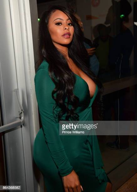 Alexis Skyy attends The HBCU Power Awards at Morehouse College on October 20 2017 in Atlanta Georgia