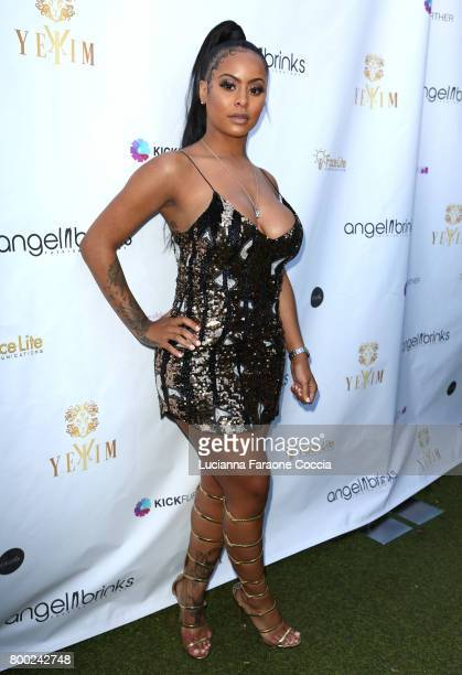 Alexis Skyy attends Yekim X Brinks a day party and fashion experience at Penthouse Nightclub Dayclub on June 23 2017 in West Hollywood California