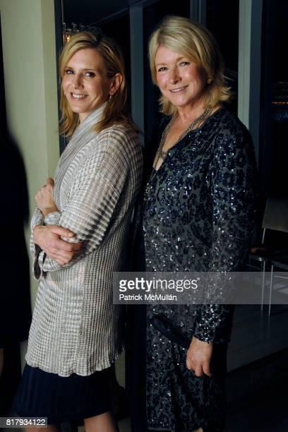 Alexis Stewart and Martha Stewart attend MARTHA STEWART celebrates Editor in Chief VANESSA HOLDEN'S September Issue of MARTHA STEWART LIVING at Kevin...