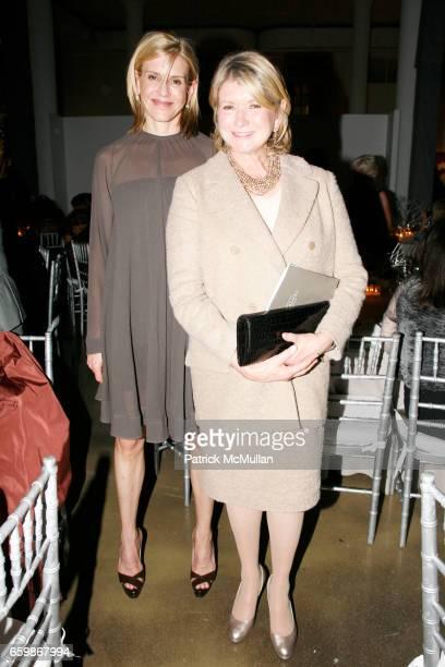 Alexis Stewart and Martha Stewart attend MARTHA STEWART Center for Living at Mt Sinai 2nd Annual Gala at Martha Stewart Headquarters on November 10...