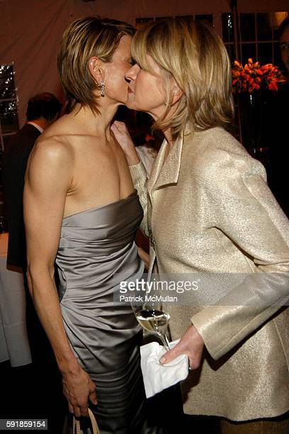 Alexis Stewart and Martha Stewart attend National Design Awards Honoring the Best in American Design at The CooperHewitt on October 20 2005 in New...