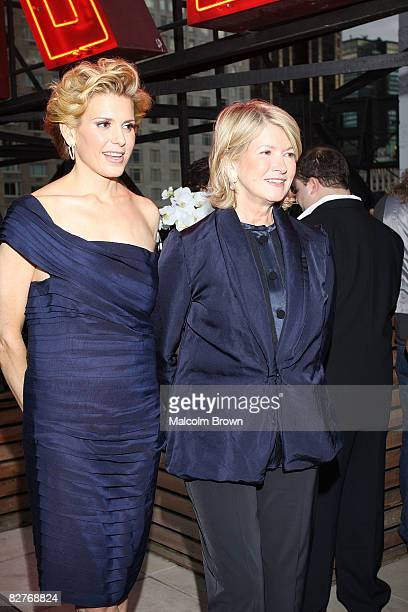 Alexis Stewart and Martha Stewart attend the Whatever Martha series launch party at the Empire Hotel Roof Deck on September 10 2008 in New York City